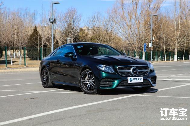 奔驰新款E级轿跑上市 售52.88万-60.48万