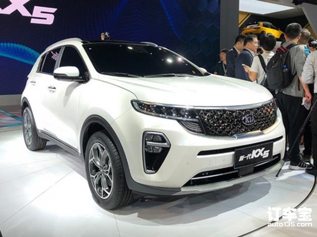 东风悦达起亚全新KX5正式发布 外观重新设计,预
