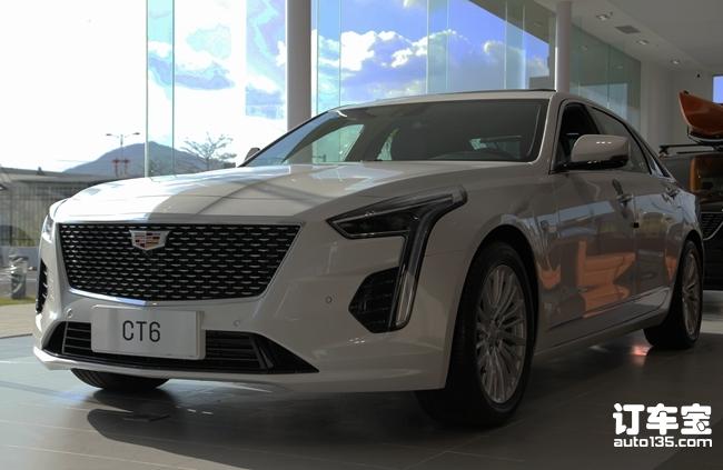 突破想象的灵感设计 全新一代凯迪拉克CT6新车实拍