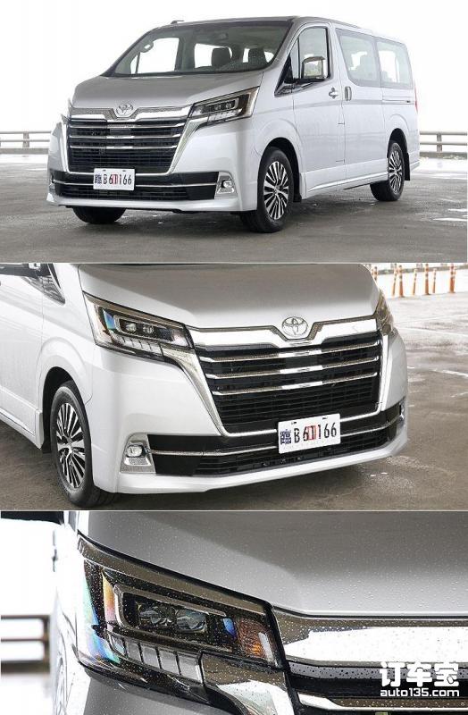 台湾接单价约38万,试驾丰田Granvia柴油版