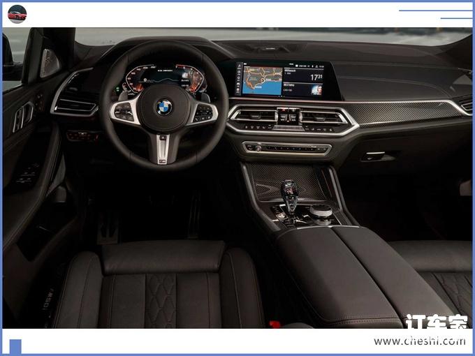 宝马全新X6开启预售下月亮相尺寸超奔驰GLE-图5