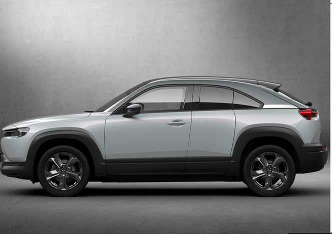 马自达MX-30即将发布!增插混车型/配对开门设计